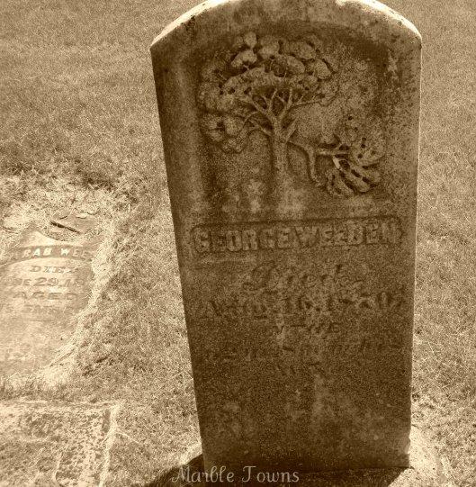 Elmwood Cem-Weeden marker