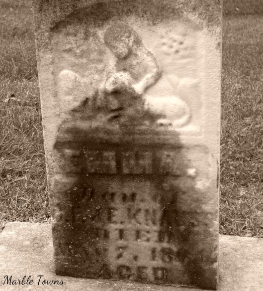 child and lamb-Naperville cem